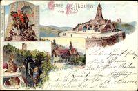 Kyffhäuserland, Kyffhäuserdenkmal, Kaiser Wilhelm der Große, Barbarossa