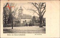 Berlin Steglitz Lichterfelde, Blick auf die alte Dorfkirche
