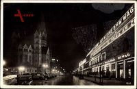Berlin Charlottenburg, Kaiser Wilhelm Gedächtniskirche, Budapester Straße
