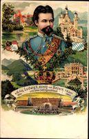 König Ludwig II. von Bayern, Neuschwanenstein, 1845 bis 1886