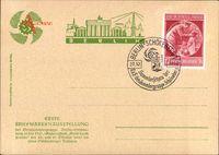 Berlin Schöneberg, Erste Briefmarkenausstellung 26 Oktober 1940