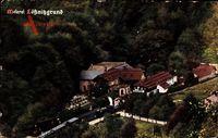 Kötzschenbroda Radebeul, Blick auf die Meierei Lößnitzgrund, Zug