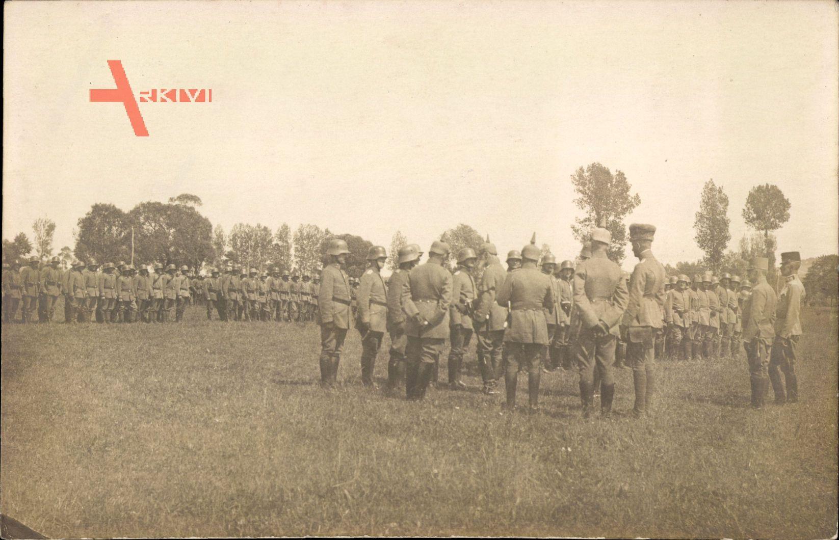 Ukraine, Burg Olesko, R.I.R. 244, Leopold von Bayern, 1917
