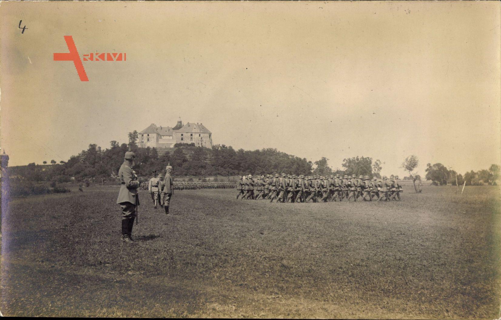 Ukraine, Burg Olesko, R.I.R. 244, Leopold von Bayern, 9. Armee Ost, 1917