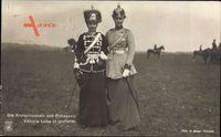 Kronprinzessin Cecilie von Preußen, Viktoria Luise in Uniform, NPG 4463