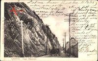 Québec Kanada, Cape Diamond, Straßenpartie, Kutsche, Felsen