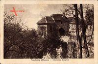 Friedberg Hessen, Blick auf das Hintere Burgtor im Herbst