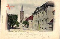 Berlin Köpenick, Blick auf das Rathaus in der Schlossstraße