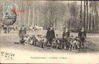 Villers Cotterets Aisne, La Chasse, La Meute, Jagd