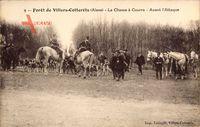 Villers Cotterets Aisne, Forêt, La Chasse à Courre, Avant l'Attaque