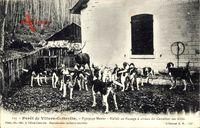 Villers Cotterets Aisne, Forêt, Equipage Menier, Hallali au Passage