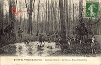 Villers Cotterets Aisne, Équipage Menier, Bat l'eau au Rond de Châtillon