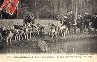 Villers Cotterets Aisne, La Forêt, Équipage Menier, Bat l'eau dans le Rû