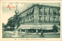 Sidi Bel Abbes Algerien, Carrefour des quatre Horloges, Uhrenturm