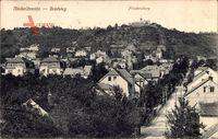 Niederlössnitz Radebeul im Kreis Meißen, Gradsteg, Friedensburg