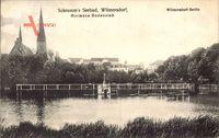 Berlin Wilmersdorf, Schramm's Seebad, Hermann Bodenstab