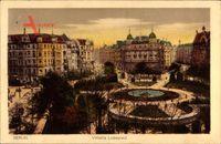 Berlin Schöneberg, Blick auf den Viktoria Luiseplatz, Commerz Bank, Straße