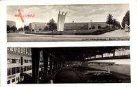 Berlin Tempelhof, Luftbrückendenkmal, Zentralflughafen, Flugzeug, Platz