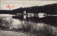 Berlin Zehlendorf, Seebad Krumme Lanke, I. Pachura, Seepartie, Wald