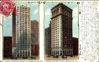 New York City USA, National Bank of North American Building,Hanover Nat. Bank