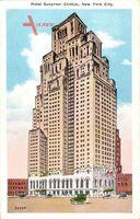 New York City USA, Hotel Governor Clinton, Hochhaus