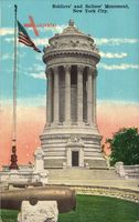 New York City USA, Soldier's and Sailor's Monument, Denkmal