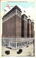 New York City USA, Hotel Pennsylvania, Skyscraper