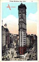 New York City, Times Building, Street Corner, Skyscraper