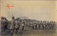 Ukraine, Parademarsch,R.I.R. 244,Burg Olesko,26 06 1917,Leopold v Bayern