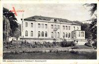 Radebeul, DRK Landesführerschule IV, Gesamtansicht, Fassade, Treppe
