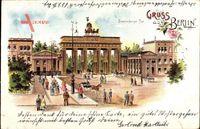 Berlin Mitte, Blick auf das Brandenburger Tor, Pariser Platz