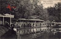 Berlin Zehlendorf, Partie am Schlachtensee, Alte Fischerhütte, Personen