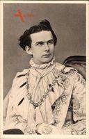 König Ludwig II. von Bayern, Portrait als Georgiritter