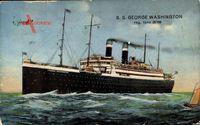 Dampfschiff S.S. George Washington, Norddeutscher Lloyd Bremen