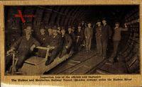 Manhattan New York City USA, Hudson Railway Tunnel, McAdoo System