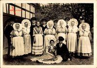 Jonsdorf in Sachsen, Trachtengruppe der Volksspielkunst, Zittauer Gebirge