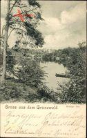 Berlin Wilmersdorf Grunewald, Blick auf den Königssee