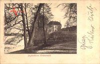 Berlin Wilmersdorf Grunewald, Blick auf das Jagdschloss Grunewald