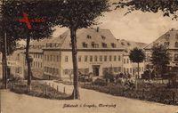 Jöhstadt Erzgebirge, Blick auf den Marktplatz, Haus Stadt Prag