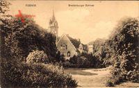 Itzehoe, Blick auf das Breitenburger Schloss, Seitenansicht