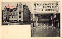 Děčín Tetschen Bodenbach Elbe Reg. Aussig, Kaiser Franz Josef Jubiläumsbad
