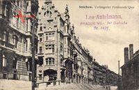 Smíchov Smichow Praha Prag, Verlängerter Ferdinandsquai