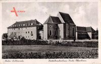 Berlin Tempelhof Lichtenrade, Kinderkrankenhaus Kirche Pfarrhaus