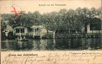 Berlin Wilmersdorf Grunewald, Wirtshaus Schildhorn, R. Schmidts