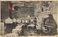 Berlin Friedrichshain, Cafe Felseneck, Inh. H. Thierfeld,Frankfurter Allee 53