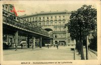 Berlin Schöneberg, Hochbahnhausdurchfahrt an der Lutherkirche