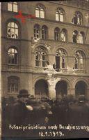 Berlin Mitte, Polizeipräsidium nach Beschiessung 1919, Spartakusaufstand
