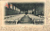 Berlin Steglitz Lichterfelde, Speisesaal in der Haupt Kadetten Anstalt