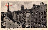 Gdańsk Danzig, Langer Markt, Lebensversicherung Friedrich Wilhelm