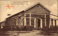 Kindamba Französisch Kongo, Chapelle Paroissiale, Construction